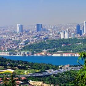 Панорама от Босфора