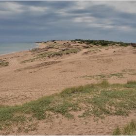 Из пясъчните дюни на Корфу
