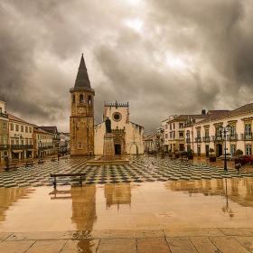 Дъжд в Томар