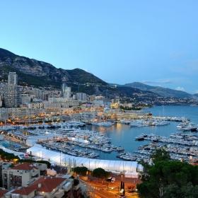 Монако привечер