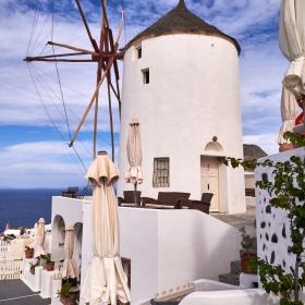 Oia's windmill