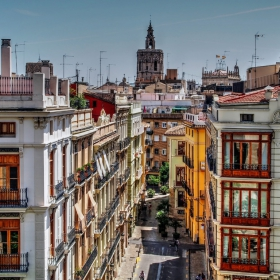 Mirar desde Torres de Serranos