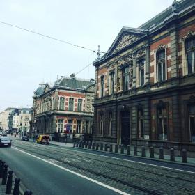 улица в центъра на Брюксел