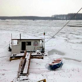 река Дунав при Силистра 11.01.2017