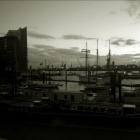 гледка от Хамбург