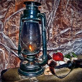 Старата газена лампа