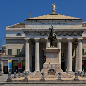 Театър Carlo Felice, 1828 г., Генуа