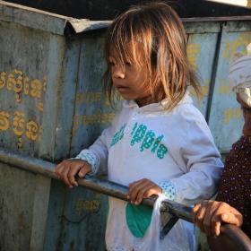 По улиците на Пном Пен