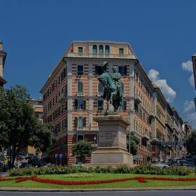 Piazza Corvetto _ Vittorio Emanuele II, Genua