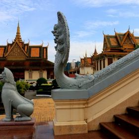 Пном Пен - дворецът