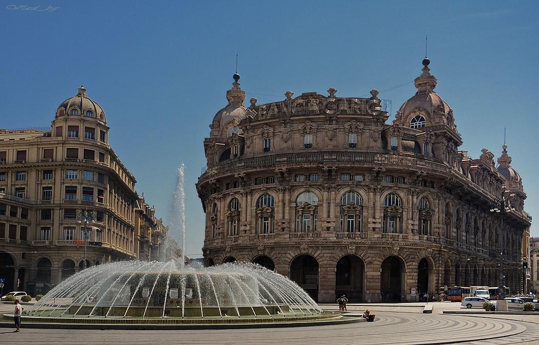 Piazza De Ferrari, Genova