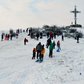 Ски писта в морския град Бургас