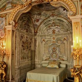В покоите на  Palazzo Rosso, 1677 г.