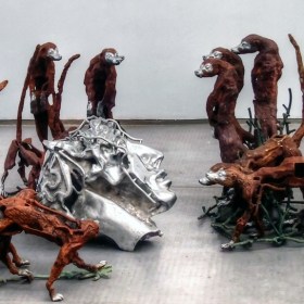 Юбилейна изложба на Крум Дамянов - Конфликт