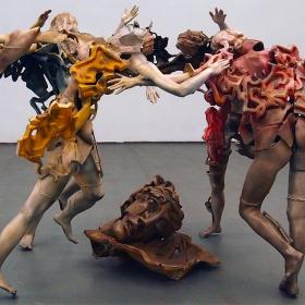 Юбилейна изложба на Крум Дамянов - Танц на вакханките