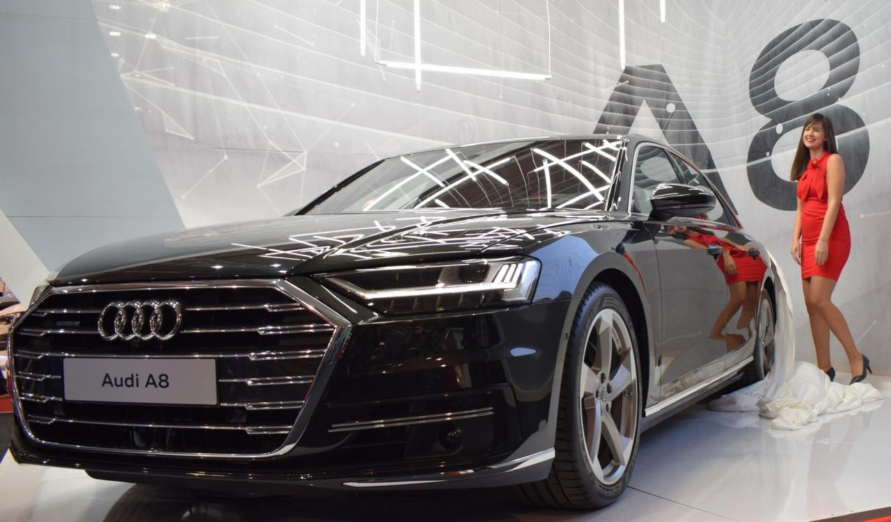 НОВИЯТ Audi A8 - Премиера на Автомобилен Салон София 2017 - 1