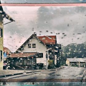 Snowy Rainy Day