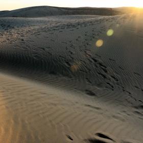 Изгрев в пустинята