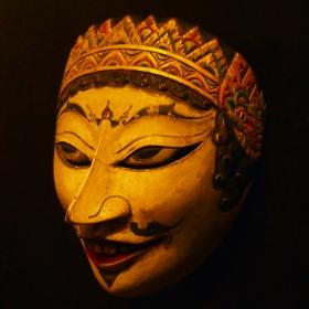 Яванска маска - Изложба