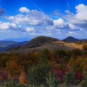 Есенните багри на сливенския балкан