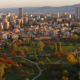 София в есенна премяна