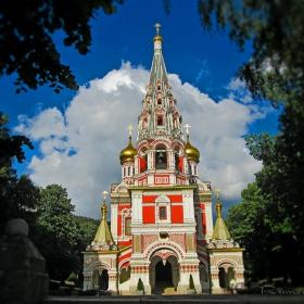 Шипченският манастир в гр. Шипка, община Казанлък.