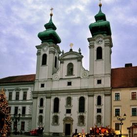 Църквата на бенедектинското училище Gergely Czuczor, 1626 г.