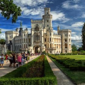 Летни спомени: Замъкът Хлубока