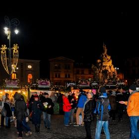Прeдновогодишно на площад Zelneho trhu, Бърно