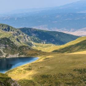 Платото край езерото Бъбрека