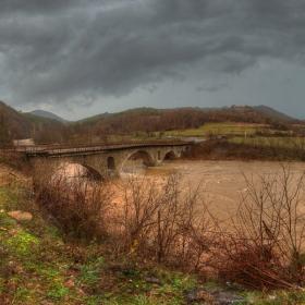 река Арда...Върбински мост...