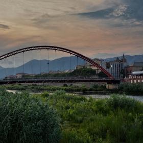 Привечерно край Ponte Viveri