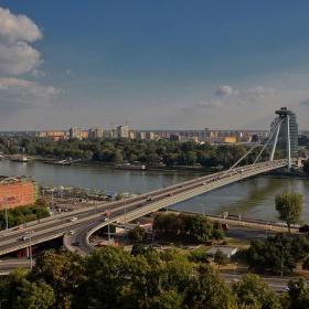 Братислава, мост SNP, 1972 г.