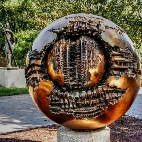 Smithsonian's Sculpture Garden - Sphere 6