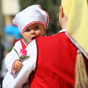 Най-малката на карнавала