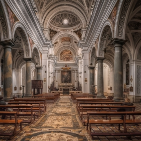 Chiesa San Martino - the nave