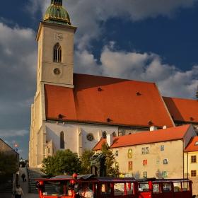 Кралската катедрала Свети Мартин, 1452 г., Братислава