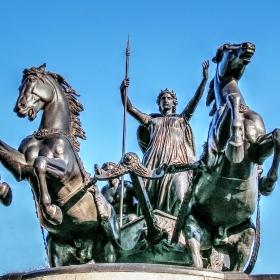 Скулптура на кралица Боудика -Boadicea, Queen of the Iceni