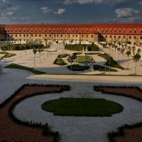 Бароковата градина на Братиславската крепост