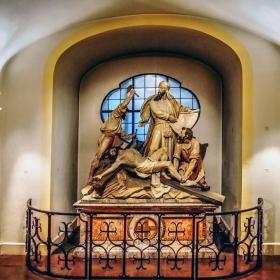St Michael Kirche - Сцена от живота на Христос - Разпятието