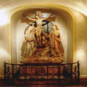 St Michael Kirche - Сцена от живота на Христос - Разпятието 2