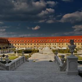 В градината на Братиславската крепост