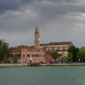 В лагуната на Венеция