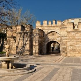 Стамбол капия -главната порта на Видинското кале