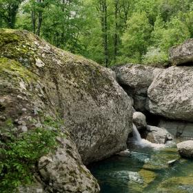 Скален водопад в Странджа
