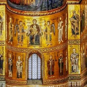 Фрагмент от катедралата в Монреале 3