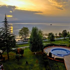 Охридски залез