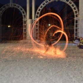Орел на Дунава - Огнено шоу