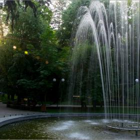 Привечер в парка