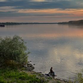 Рибоуловител на силистренския бряг